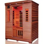 "Product Photo: Infrared Heat Home Sauna 3 Person, 49""D x 60""W x 75""H"