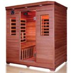 "Product Photo: Infrared Heat Home Sauna 4 Person, 49""D x 71""W x 75""H"